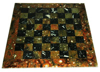 Table marqueterie damier : image 1 0f 1 thumb